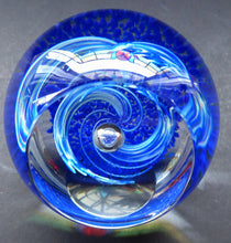 Load image into Gallery viewer, Fabulous LIMITED EDITION Scottish Caithness Glass Paperweight: Exuberance by Alastair MacIntosh; 1993