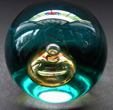 Load image into Gallery viewer, Fabulous LIMITED EDITION Scottish Caithness Glass Paperweight: Scarab by Colin Terris; 1992