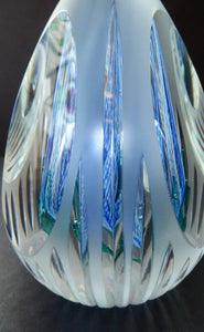 SCOTTISH Limited Edition of Only 250. Caithness Glass Paperweight:  ICE FLOWER by Allan Scott