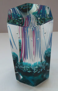 SCOTTISH Limited Edition of 350. Caithness Glass Paperweight:  FIREWORK FESTIVAL by Colin Terris