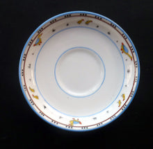 Load image into Gallery viewer, Extremely Rare Paragon Child's Nursery Ware ANIMAL ALPHABET Saucer 1930s