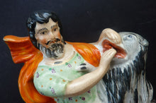 Load image into Gallery viewer, Fabulous Antique Staffordshire Figurine. The Lion Tamer, Van Amburgh, c 1850s