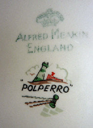 1950s POLPERRO design. Highly Collectable Vintage Alfred Meakin Side Plate