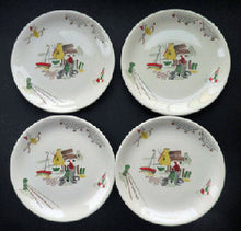 Load image into Gallery viewer, 1950s POLPERRO design. Highly Collectable Vintage Alfred Meakin Side Plate