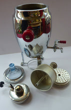 Load image into Gallery viewer, WMF Coffee Percolator  / Samovar / Kettle Spirit Burner. Chrome Plate Vintage 1930s ART DECO
