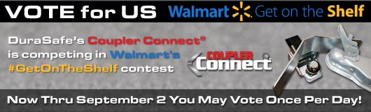 Help Coupler Connect® Get On The Shelf at Walmart!