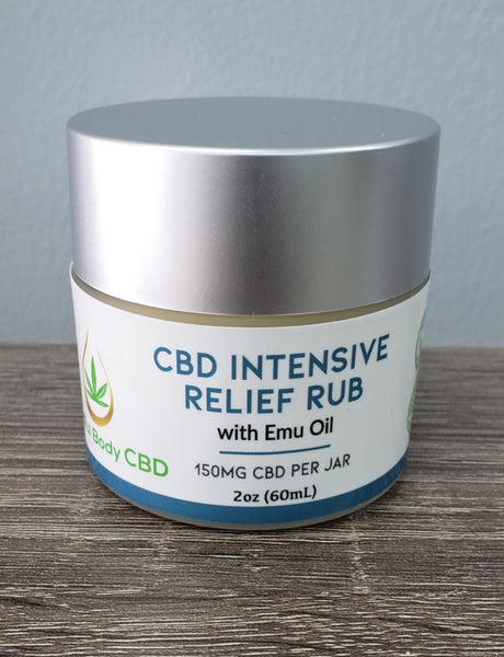 CBD Intensive Relief Rub 150mg