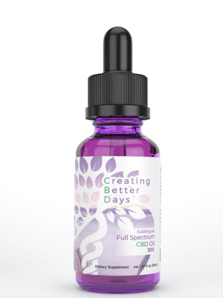 Full Spectrum CBD Oil 300 mg