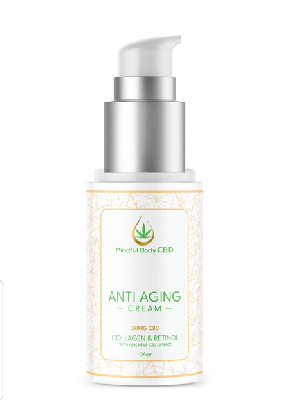 Revitalize Cream with Collagen and Retinol- CBD 20mg