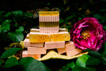 Load image into Gallery viewer, OPTIMISM! Triple Calendula Lemongrass Soap