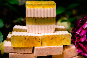 OPTIMISM! Triple Calendula Lemongrass Soap