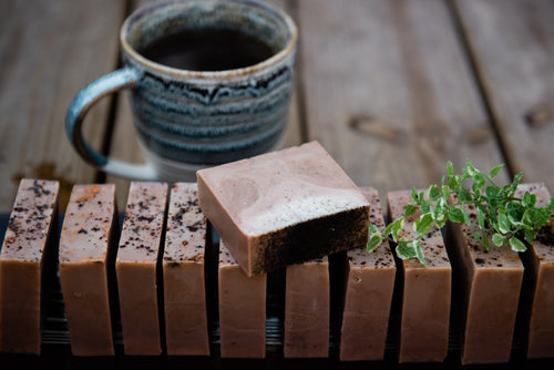 HEART OPENER: COCOA and COFFEE SOAP