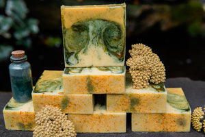 EMOTIONAL HEALING: Yarrow and Spirulina Soap