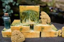Load image into Gallery viewer, EMOTIONAL HEALING: Yarrow and Spirulina Soap