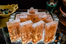 Load image into Gallery viewer, HEALING: Gardenia with Dragon's Blood Embeds Soap