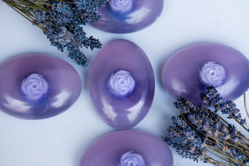 CALMING PURIFICATION: Lavender and Clary Sage Soap