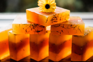 OPTIMISM! Calendula Citrus Soap