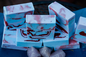 Ostara Berry Honey Soap