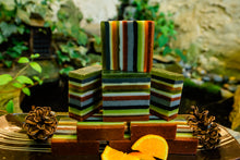 Load image into Gallery viewer, PERSEVERE: Pine, Orange and Sage Soap