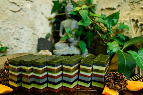 PERSEVERE: Pine, Orange and Sage Soap