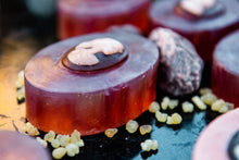 Load image into Gallery viewer, PERSONAL POWER: Dragon's Blood and Frankincense Soap
