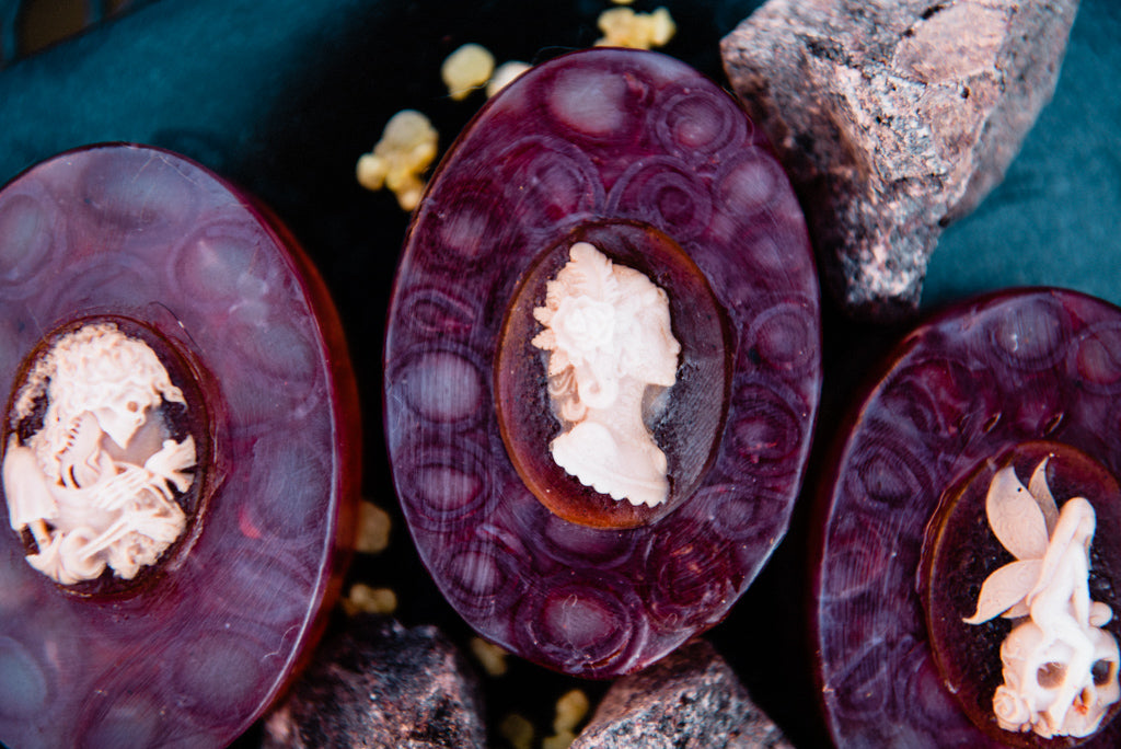 PERSONAL POWER: Dragon's Blood and Frankincense Soap