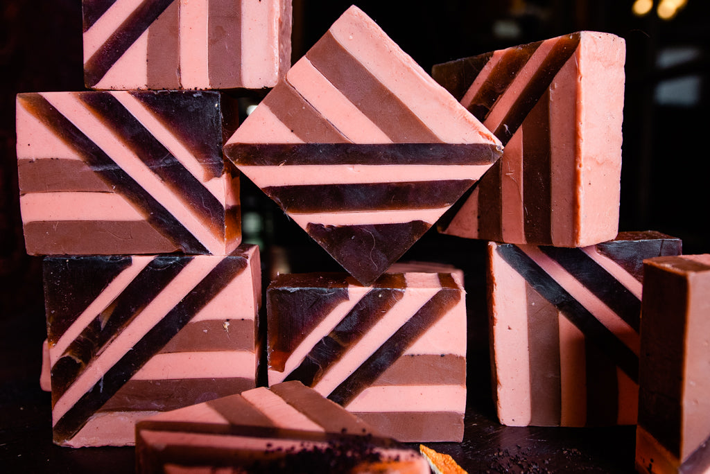 SPELL BOOSTER: Coffee and Cedarwood Soap