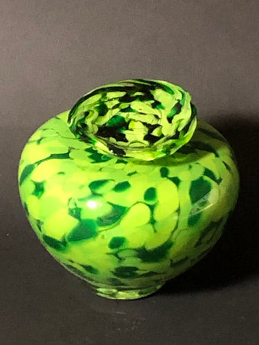 Personal Temple Venetia Keepsake Urn - Green with Accents