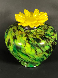 Personal Temple Venetia Urn - Sunflower