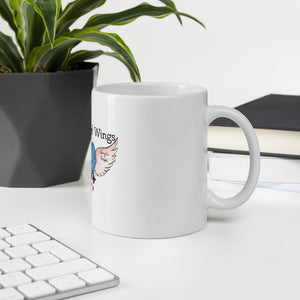 With Angel Wings Mug