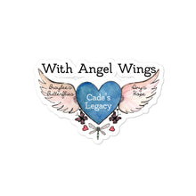 Load image into Gallery viewer, With Angel Wings Bubble-free stickers