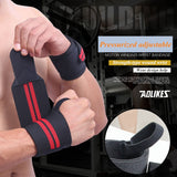 1 Pair Weight Lifting Training Sport Wrist Wraps