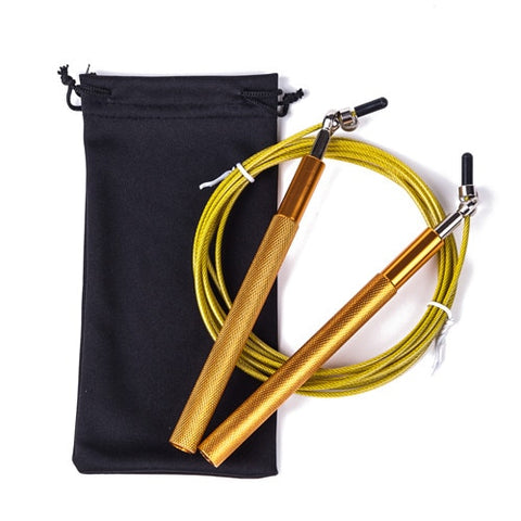 Skipping rope / Speed Cable Jump Rope with metal bearings