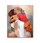 First Day In Heaven Wrapped Canvas