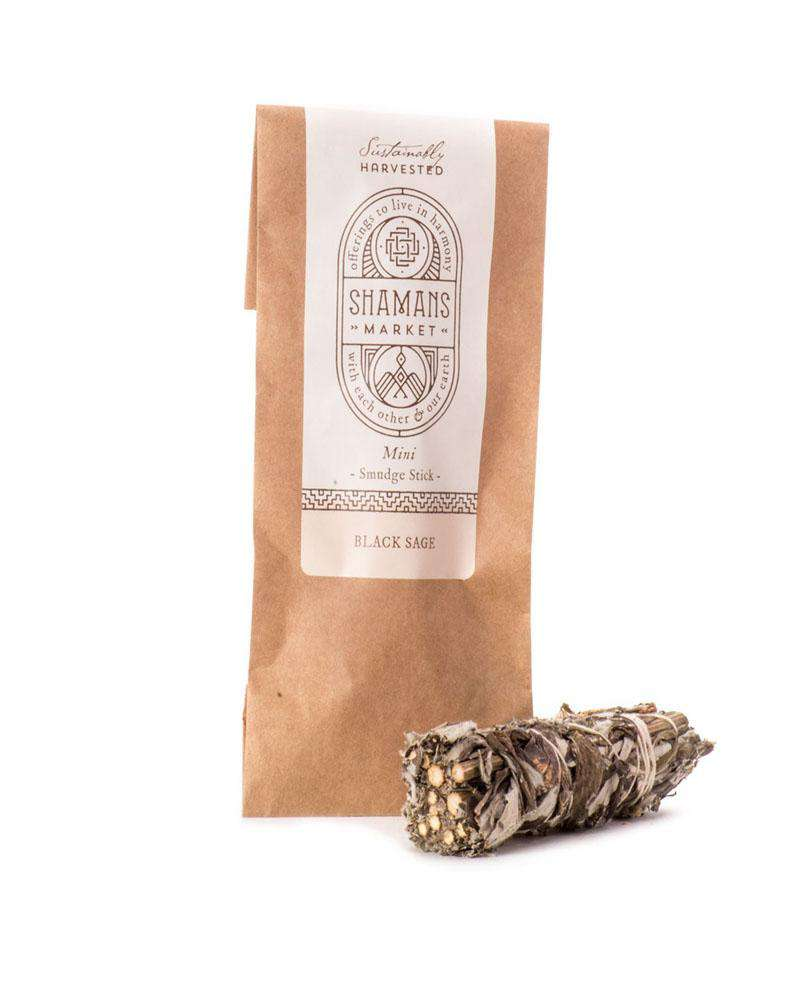Black Sage Smudge Sticks 3in Mini - Mukha Yoga