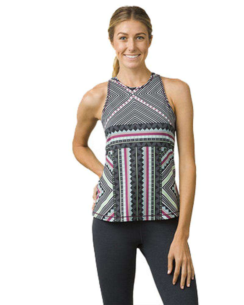 Boost Printed Yoga Top - Mukha Yoga