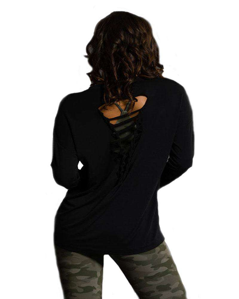 Braid Back Long Sleeve - Mukha Yoga