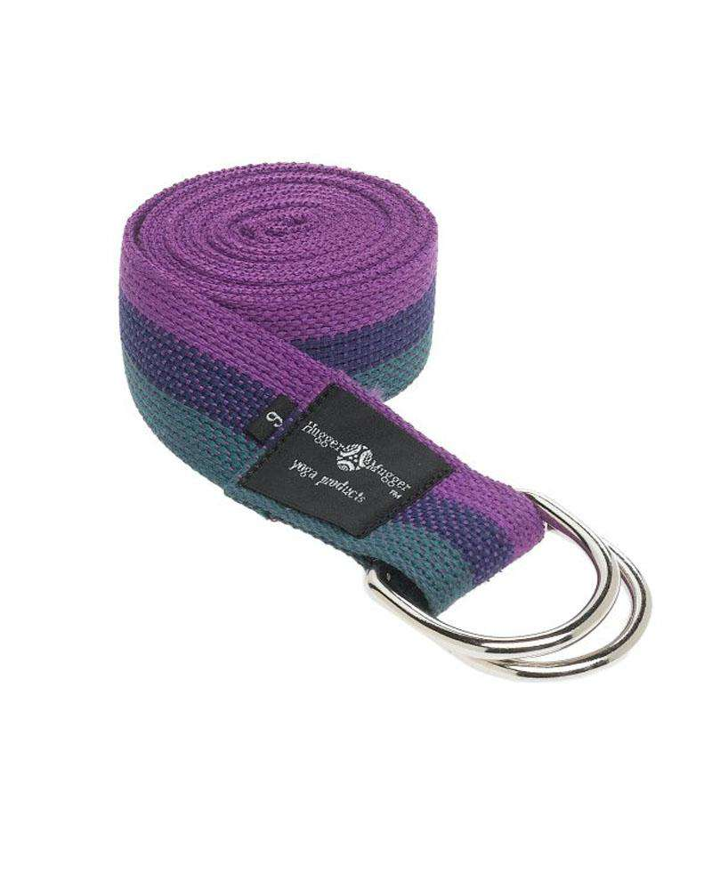 Cotton D-Ring Yoga Strap - Multicolored - Mukha Yoga