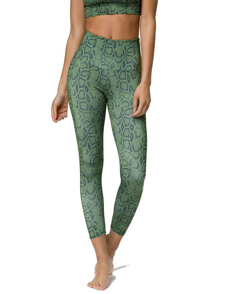 High Basic Midi Legging - Mukha Yoga