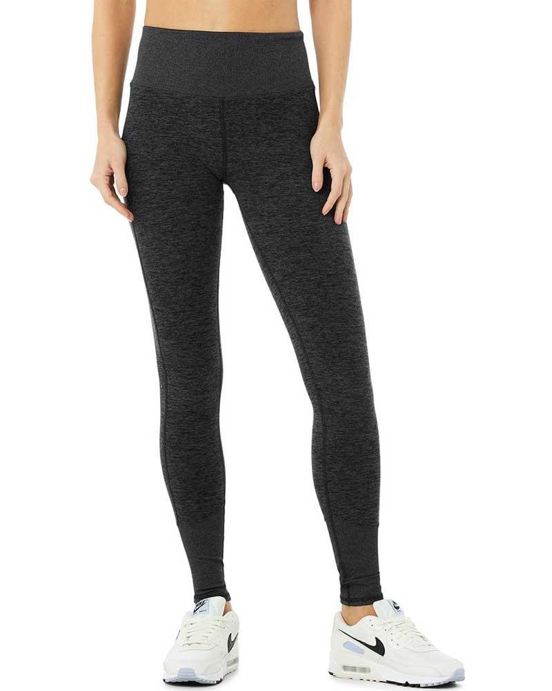 High Waist Alosoft Lounge Legging - Mukha Yoga