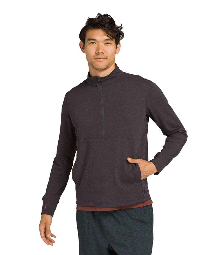 Jarvis 1//2 Zip Long Sleeve - Mukha Yoga