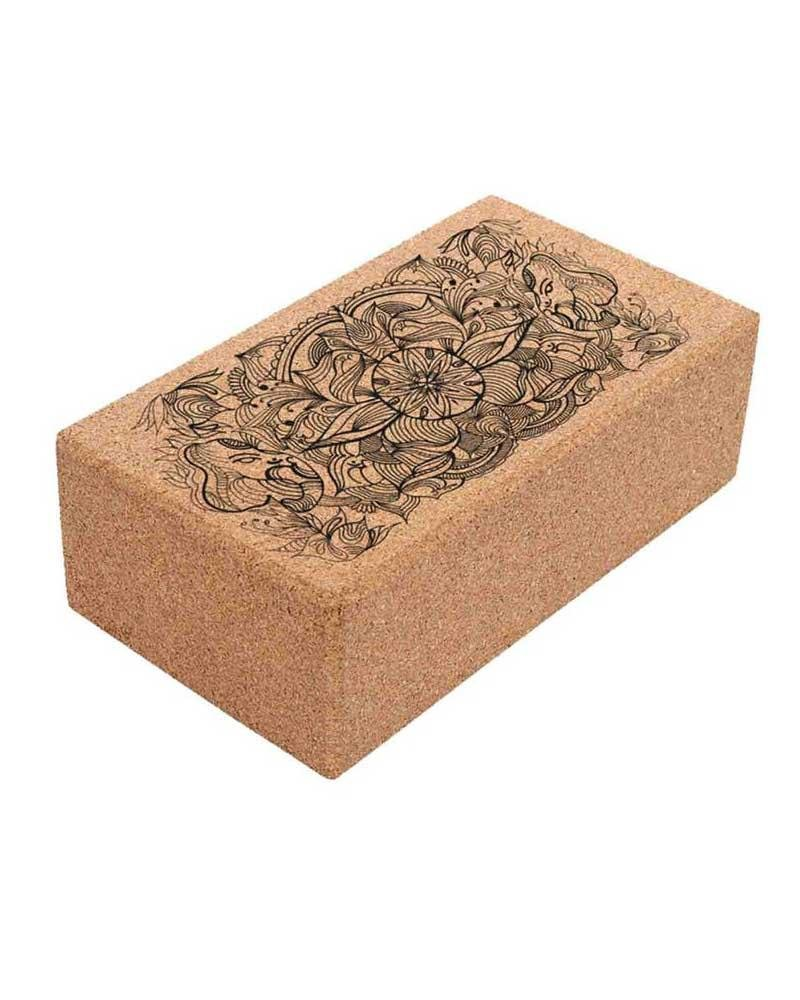 Lift Yoga Cork Block - Mukha Yoga