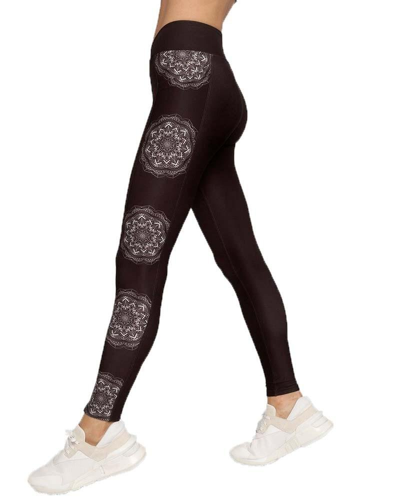 Luna Crossover Pocket Legging - Mukha Yoga