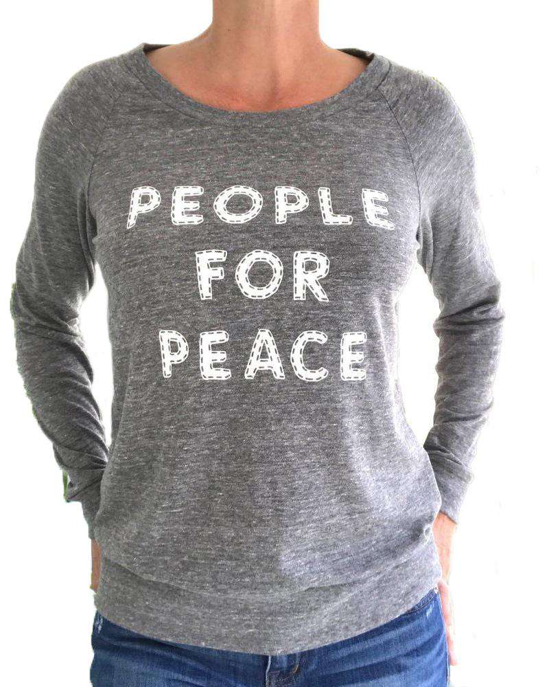 People For Peace Sweatshirt - Mukha Yoga