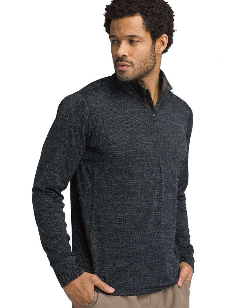 Pratt 1/4 Zip Long Sleeved Top - Mukha Yoga
