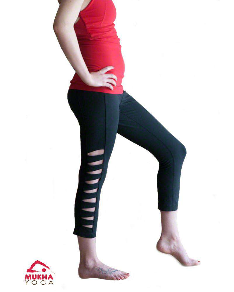 Warrior Tough Cut Legging - Mukha Yoga