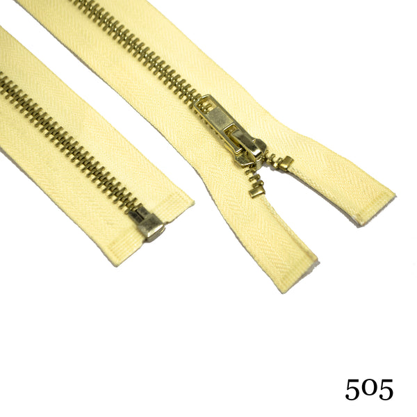 "#5 36"" Brass Separating - Various Colors"