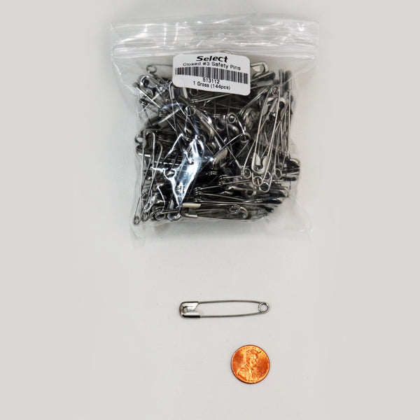Safety Pins - multiple Sizes