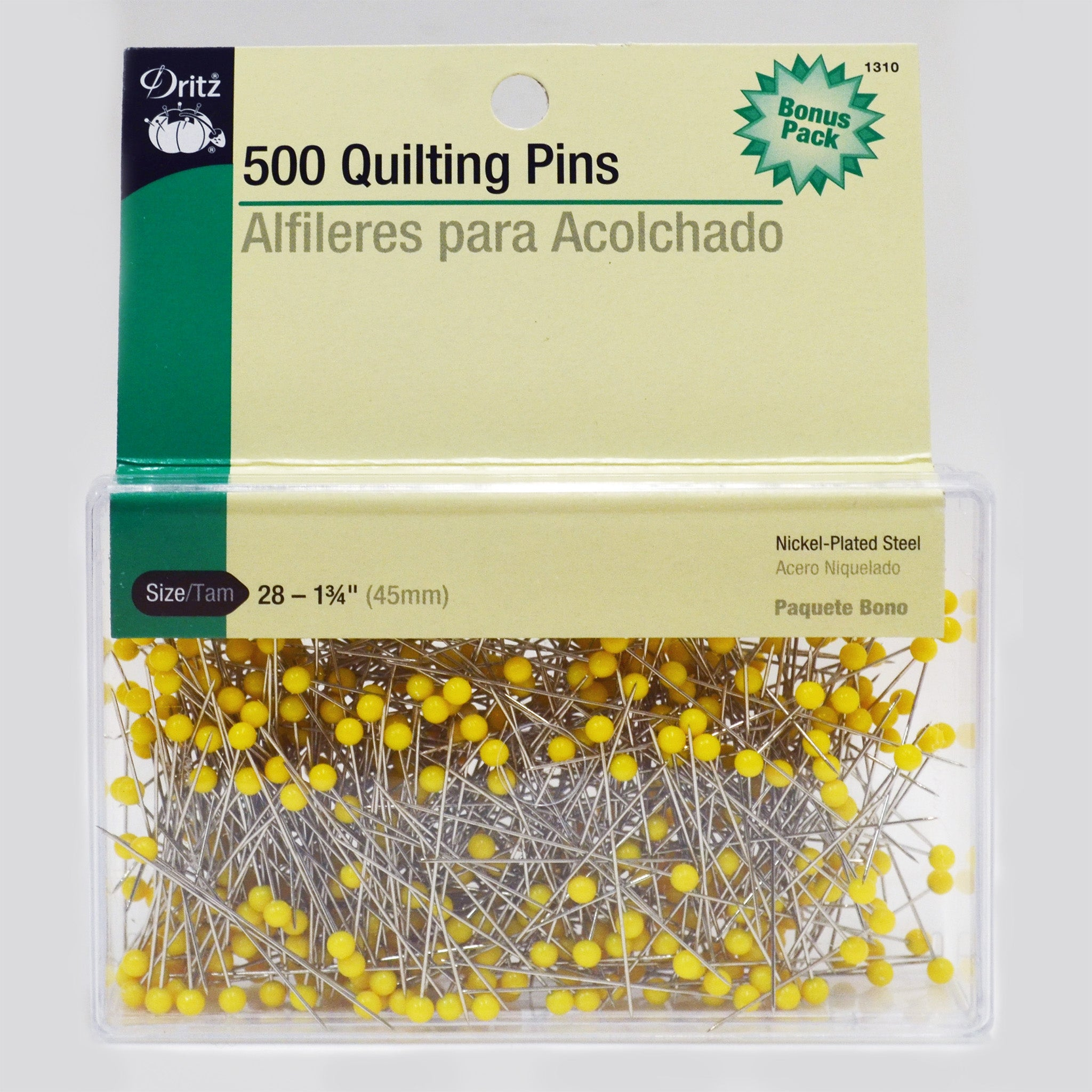 Quilting Pins (Size 28) 500 pieces