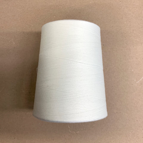 Tex 27 White 10,000 yards All Purpose Polyester Sewing Thread